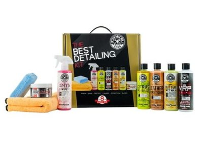 CHEMICAL GUYS BEST DETAILING KIT 8 ITEMS