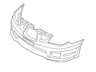 Subaru bumper parts